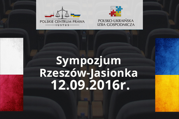 Sympozjum Rzeszów-Jasionka 2016
