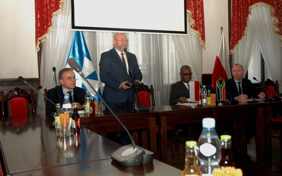 Wizyta Ambasadora RPA w Rzeszowie